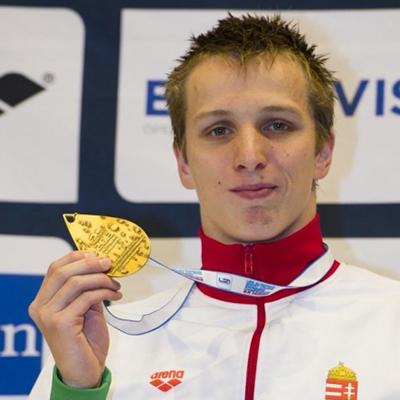 világ- és Európa-bajnok magyar úszó